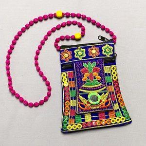 Boho/Hippie Crossbody Bag